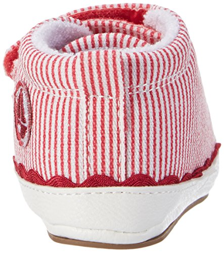 Sterntaler Baby-schuh, Chaussons pour enfant bébé fille Rot (Beerenrot)