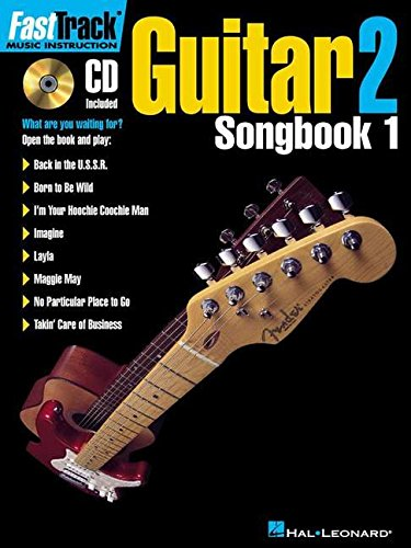Fasttrack Guitar Songbook 1 - Level 2 [With CD] (Fasttrack Series) por Blake Neely