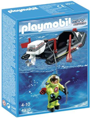 Playmobil - Lancha con Buzo 4910