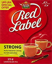 Brooke Bond Red Label - Loose Black Tea, 375 gm