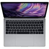 Apple MacBook Pro 13 Inc. 2017 - 2.3GHz i5 - 8GB RAM - 256GB SSD - (MPXT2LL/A - 2017) - QWERTY - Gris Espacial (Reacondiciona