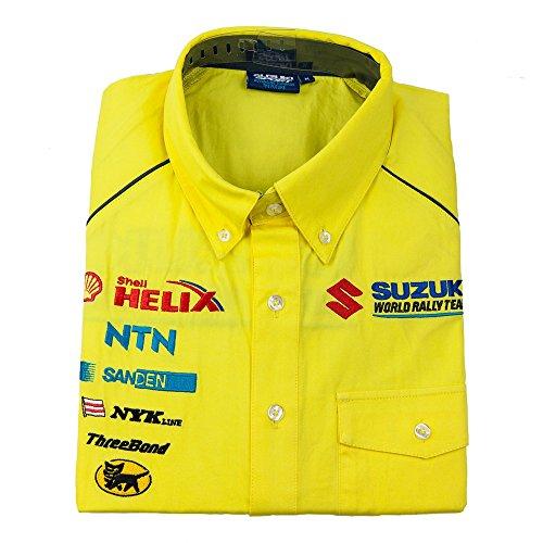 herausforderung-suzuki-sport-world-rally-team-motorsport-corsa-herren-kurzarm-gelb-xs