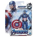Avengers E3932ES0 Marvel Endgame Capitan America, 15 cm große Actionfigur