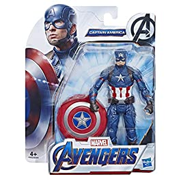 Avengers – Captain America, Action Figure Personaggio Giocattolo (15cm)