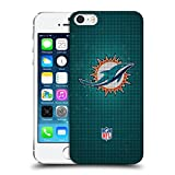 Head Case Designs Offizielle NFL LED 2017/18 Miami Dolphins Ruckseite Hülle für Apple iPhone 5 / 5s / SE