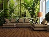 Fototapete Asiatischer Regenwald - Größe 360 x 270 cm, vierteilig