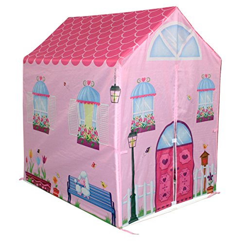 charles-bentley-kids-childrens-pink-girls-playhouse-wendy-house-indoor-outdoor-play-tent