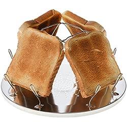 JUSTCAMP Golden Grille-Pain de Camping Pliable - 1 pièce