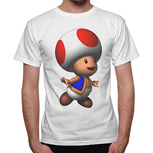 Camiseta de alta calidad en suave algodón con bonita impresión directamente en el tejido para una encantadora sensación de contacto con la piel.