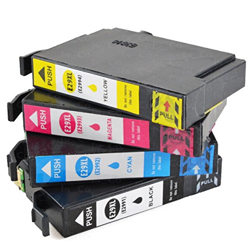 Preisvergleich Produktbild 4x Drucker Patronen IBC für Epson PK 29 XL Expression Home XP 235 XP 245 XP247 XP342 XP345 XP 432 XP435 XP442 XP445 NEU