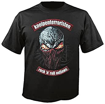 KNEIPENTERRORISTEN - Rock n Roll Outlaws - T-Shirt (incl. unreleased Promo-CD) Größe 3XL