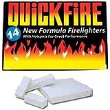 Fire Lighters Quickfire Firelighters Bulk Pack Hotspots Burners BBQ COAL LIGHTERS WOOD BURNERS