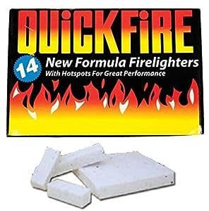Kaminanzünder von Quickfire, Großpackung, 1