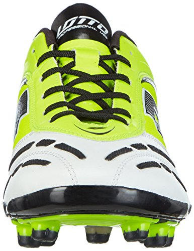 Lotto Stadio P Vi 200 Fg, Chaussures de Football pour Compétition Homme Multicolore - Mehrfarbig (YLW SAF/WHT)