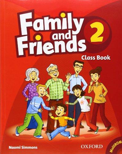 Family and Friends 2 : Class Book (1Cédérom) par Naomi Simmons
