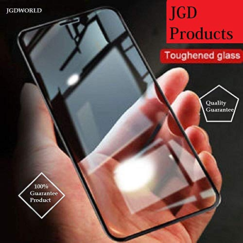 JGDWORLD HD crystal Clear full glue edge to edge Tempered glass Screen protector for Nokia 8.1 (2019)