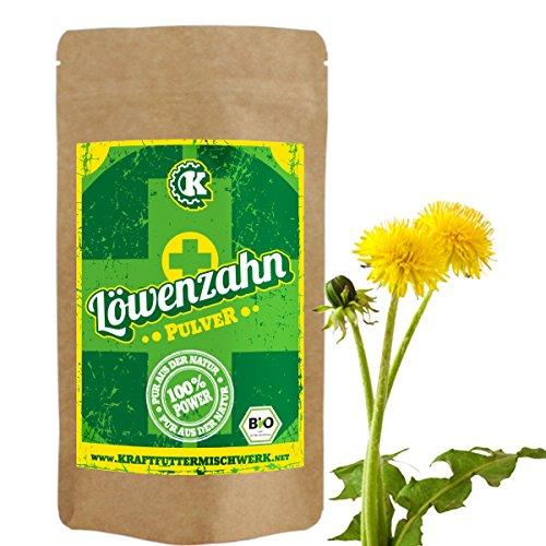 Löwenzahn Pulver (bio) - 100g - die natürliche, nährstoffreiche Komponente für Haut und Verdauung