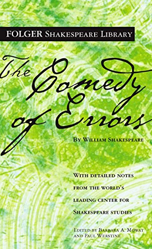 the-comedy-of-errors-folger-shakespeare-library-english-edition