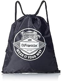 D.Franklin Groovy Drawstring Bag, Mochila Unisex Adulto