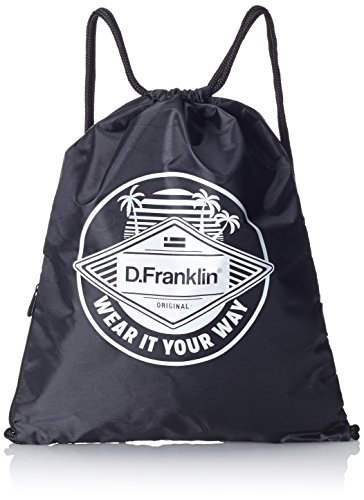 dfranklin-groovy-drawstring-bag-mochila-unisex-color-negro-black-talla-unica