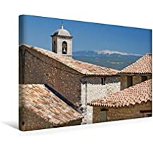 Premium Textil-Leinwand 45 cm x 30 cm quer, Mont Ventoux, der heilige Berg der Provence | Wandbild, Bild auf Keilrahmen, Fertigbild auf echter ... beeindruckenden Mont Ventoux (CALVENDO Orte)