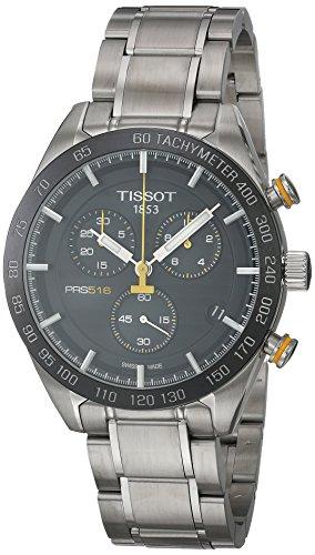 Tissot Herren-Uhren Analog Quarz One Size Edelstahl 86963167