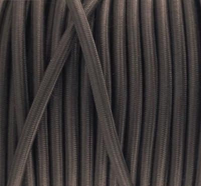 Textilkabel, Stoffkabel, Lampen Kabel Strom, 3-adrig, 3x0,75mm², GWH-Braun von Globe Warehouse auf Lampenhans.de