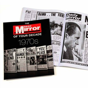 1970s Daily Mirror of Your Decade