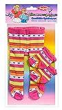 Heless 875 - Collant per bambole con calzini, 35 - 45 cm, Colori Assortiti