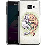 Samsung Galaxy A3 (2016) Housse Étui Protection Coque Chien Loup Dessin