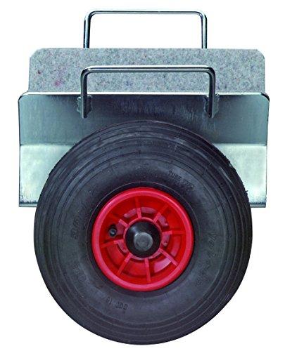 BS Rollen Plattenwagen.3L Plattenklemmwagen, Klemmbreite 70-160 mm, Lufträder
