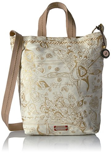 sakroots-campus-tote-gold-songbird