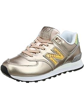 New Balance Damen Wl574v2 Glitter Pack Sneaker