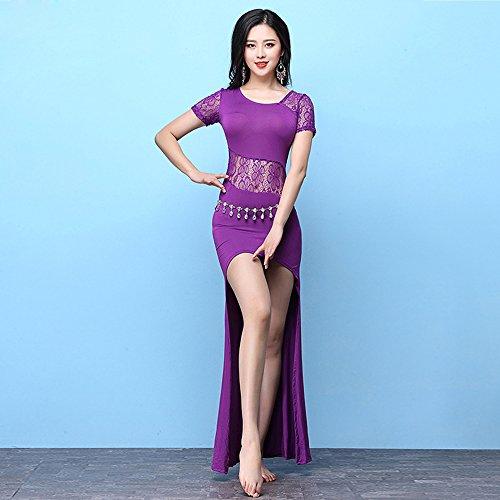 Xueyanwei Professional Lady Bauchtanz Kostüme Indischen Tanzkleid Übung -