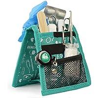 Organizador auxiliar de enfermería | Keen's | Mobiclinic | Para bata o pijama | Diseño exclusivo con estampados en color verde | Amo la enfermería