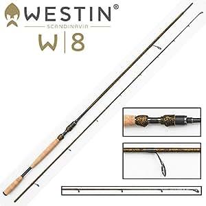 Westin w8 powerlux spin m (9'2 parties 2,7 m/puissance 7–30 g