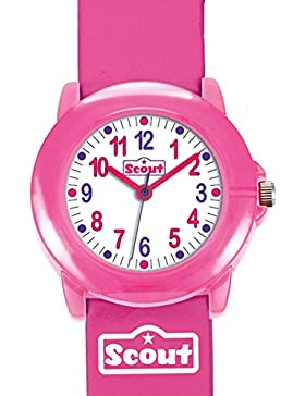 Scout Mädchen-Armbanduhr Analog Quarz Kunstleder 280305005