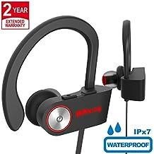 Auriculares Bluetooth 4.1 Inalámbricos Estéreo Deportes Auriculares Bluetooth 4.1,IPX7 A Prueba De Agua,
