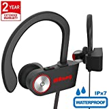 Cuffie Bluetooth Wireless Senza Fili Sport Auricolari Con Microfono per Apple iPhone X 8 7 Plus 6 iPad Samsung Galaxy