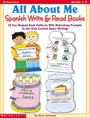 All About Me Spanish Write & Read Books por Alyse Sweeney