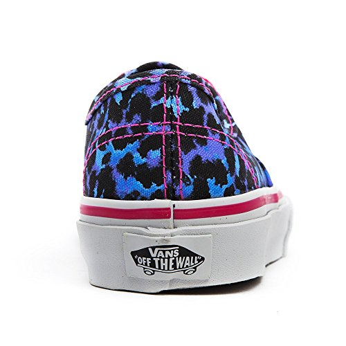Vans Juniors Authentic Leopard Skull / Bleu / True Leopard Skull / Bleu / True