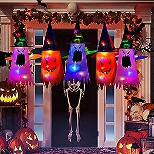 Decoración de Halloween al aire