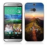 Fubaoda HTC One M8 / M8S Hülle [Spitzenweg] Kratzfeste Plating TPU Case für HTC One M8 / M8S Case Schutzhülle Silikon Crystal Case Durchsichtig für HTC One M8 / M8S