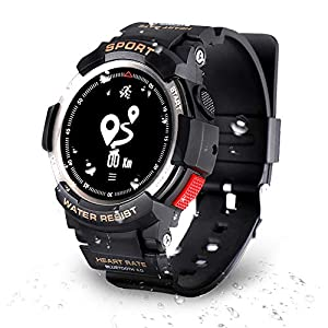 DTNO.I Sports watch, Fitness Tracker for Running, Swimming and Cycling, Activity Tracker with Heart Rate Monitor, IP68…