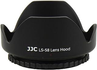 Powerpak JJC 58mm Lens Hood Designed For Canon EF-S 55 - 250 mm f/4-5.6 IS II, Canon EF-S 18 - 55 mm f/3.5-5.6 IS II Lens