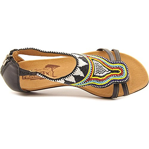 Pikolinos, Alcudia, Authentic Maasai Design, Black 816-MA9081 Schwarz