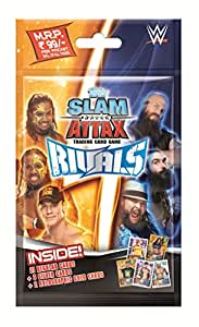 Topps Slam Attax WWE Rivals Multipack, Multi Color