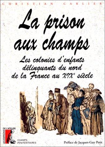 La prison aux champs. Les colonies d'enfants délinquants du nord de la France au XIXe siècle