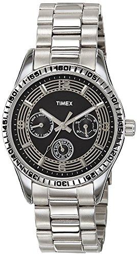 Timex E-Class Analog Black Dial Women's Watch - TI000W20100