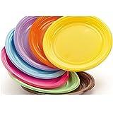 Platos de plástico duro de color DoPla 30 piezas - púrpura